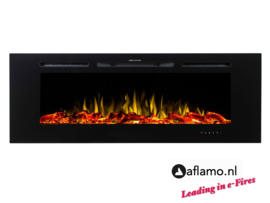 Aflamo Majestic 165cm - Wall Hanging Electric Fireplace