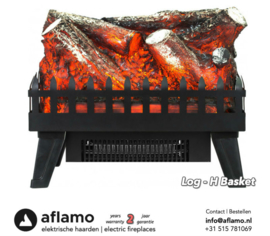Aflamo Logset Large - Freestanding electric fireplace