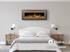 Aflamo Mohave Hout-look - Elektrische wandhaard