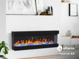 Aflamo Imperial 152cm - Elektrische inbouwhaard