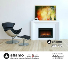 Aflamo LED 70 - Electric insert fireplace