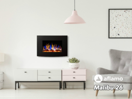Aflamo Malibu 26 - Elektrische wandhaard