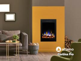 Aflamo Cortina PRO - Elektrische inzethaard