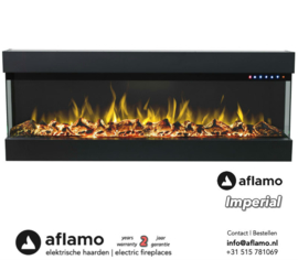 Aflamo Imperial 60 - Built-in Electric Fireplace
