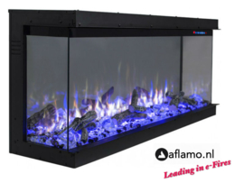 Aflamo Three Sided 152cm - Built-in Electric Fireplace