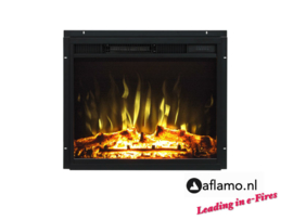 Aflamo LED 60 - Electric insert fireplace