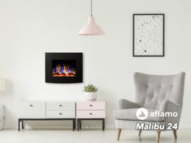 Aflamo Malibu 24 - Elektrische wandhaard