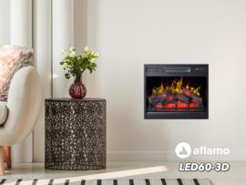Aflamo LED60-3D - Elektrische inbouwhaard