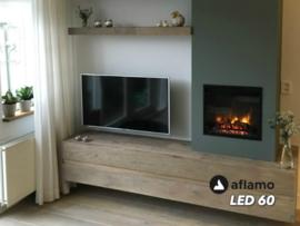 Aflamo LED60 - Elektrische inbouwhaard