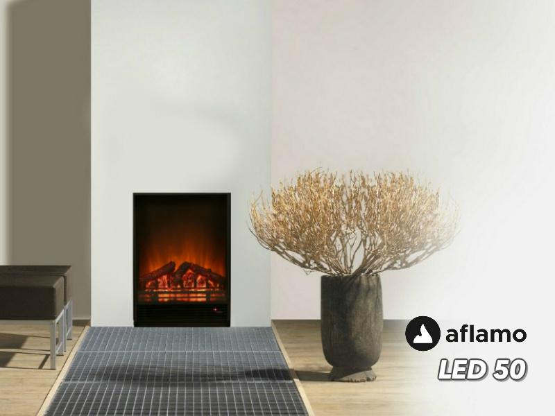 Aflamo LED 50 - Elektrische inbouwhaard