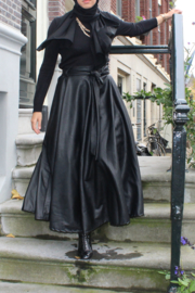 LEDER LOOK SKIRT