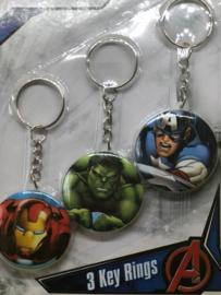 Avengers sleutelhangers