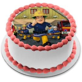 Pakket:  maak je eigen brandweerman Sam taart