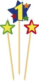 Prikkerkaarsje ster 1