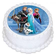 Pakket: maak je eigen Frozen taart