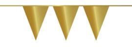 Vlaggenlijn metallic gold (10m)