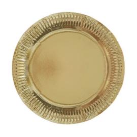 Borden goud (8 stuks)