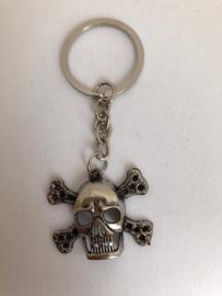 Piraten /doodskop sleutelhangers