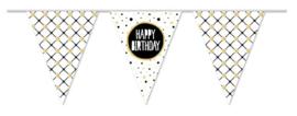 "Vlaggenlijn ""Happy birthday"" (10m)"