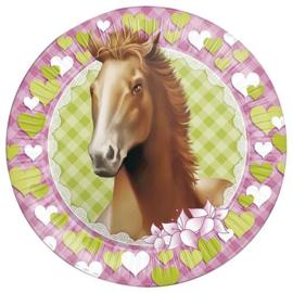 Borden paarden (8 stuks)
