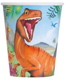 Bekers Dinosaurus ( 8 stuks)