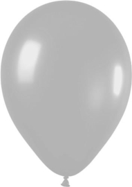Ballonnen zilver ( 10 stuks)