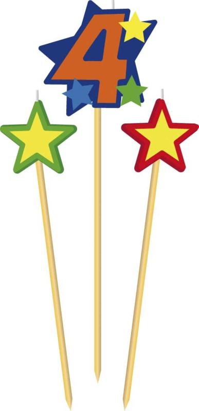 Prikkerkaarsje ster 9