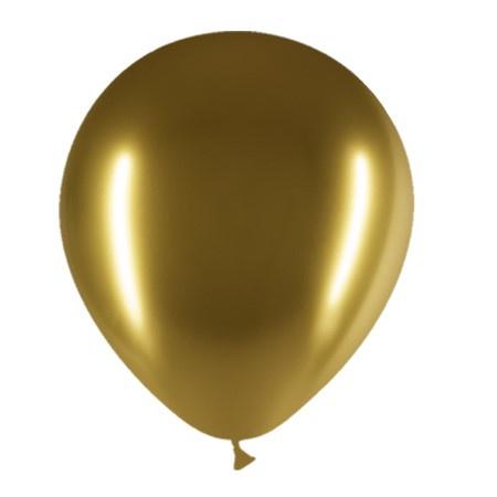 Ballonnen goud ( 10 stuks)
