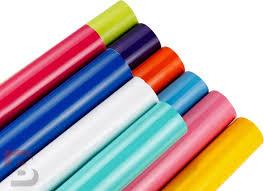 Wrapfolie Glans - Diverse Kleuren - Afhalen in Ede mogelijk.
