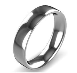zilver naam ring 5 mm