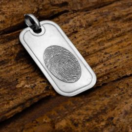 zilver taghangervingerprint