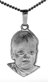 zilver portret