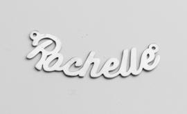 zilver naamhanger Rochelle
