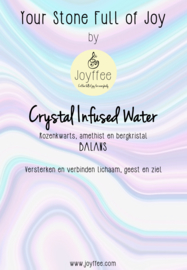 Crystal Infused Water Stones: BALANS