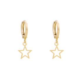 Earrings STAR Gold/Silver