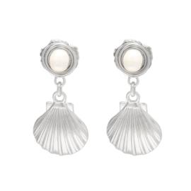 Earrings SHELL Gold/Silver