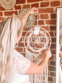 Rose Quartz Dreamcatcher (large)