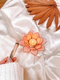 Lotus Theelichtje 𓆸 Roze