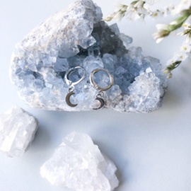 Earrings MOON Gold/Silver