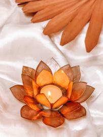 Lotus Theelichtje 𓆸 Smoked