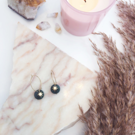 Malachiet Star Earrings