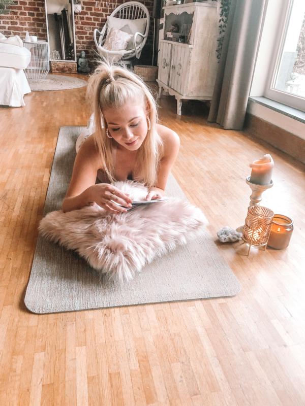 ZENN-pakket: Meditatiemat jute & Joyffee-fleece