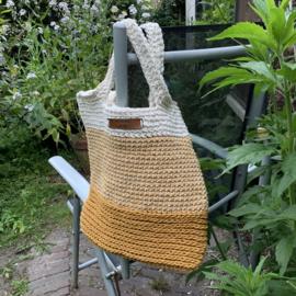 Handgemaakt product: Zomerse tas