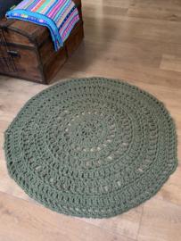 Haakpakket: Vloerkleed  | rond | 113 cm