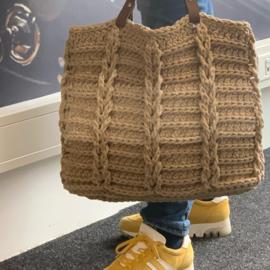 Handgemaakt product: Jakobsladder tas