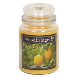 Mediterranean Lemon 565g Large Candle