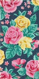 Diamond Painting Wenskaart  Pretty Flowers