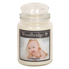 Baby Powder 565g Large Candle