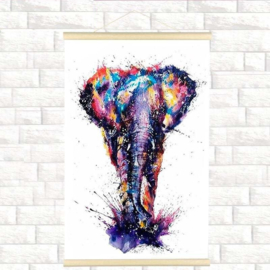 Diamond Painting Miss Coccinelle  Scroll Olifant