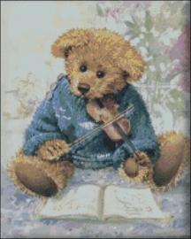 Diamond Painting Miss Coccinelle Teddy Bear  40x50